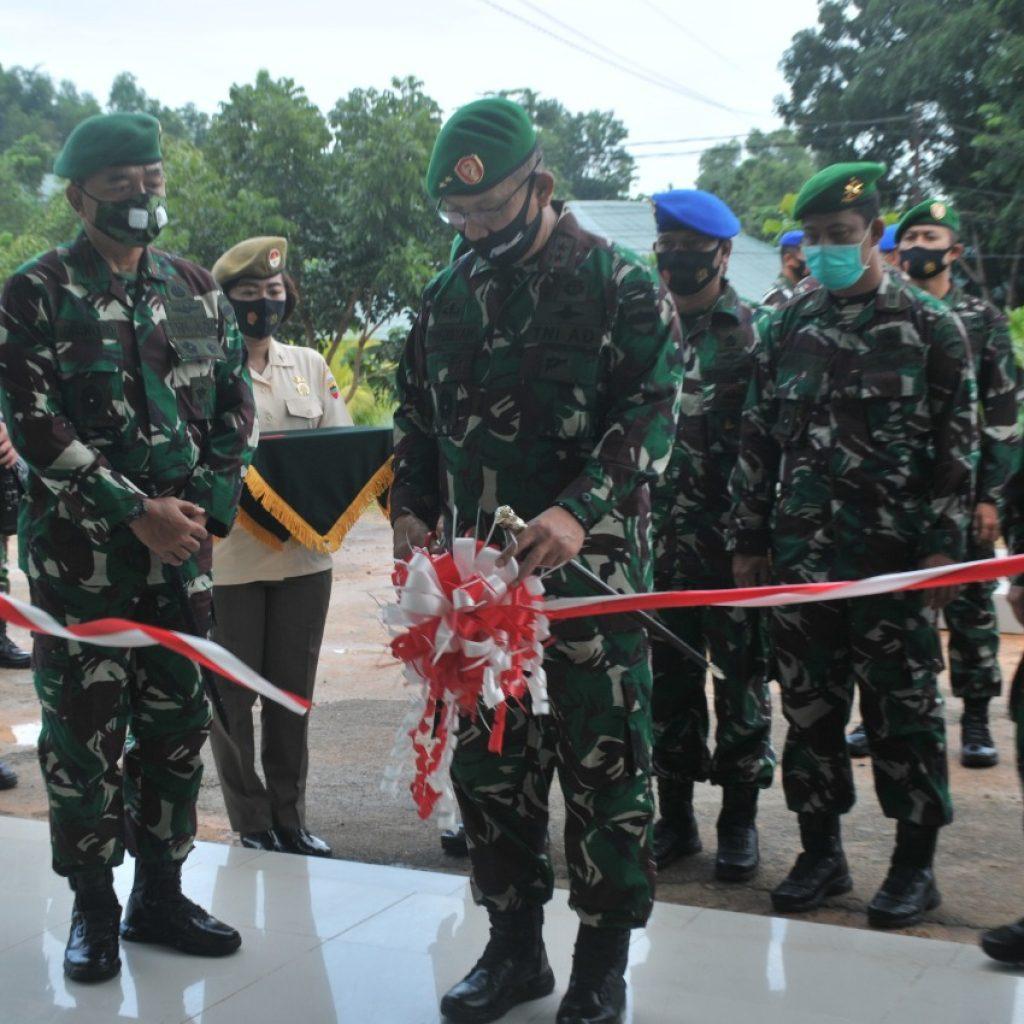 Korem 033/Wira Pratama Resmikan Satuan Baru Di Jajaran Korem