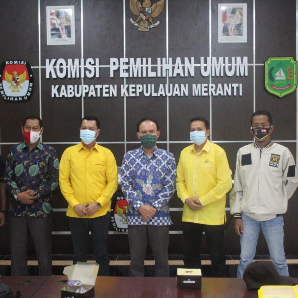 KPU Meranti Tetapkan Said Hasyim – Abdul Rauf Paslon Bupati dan Wakil Bupati