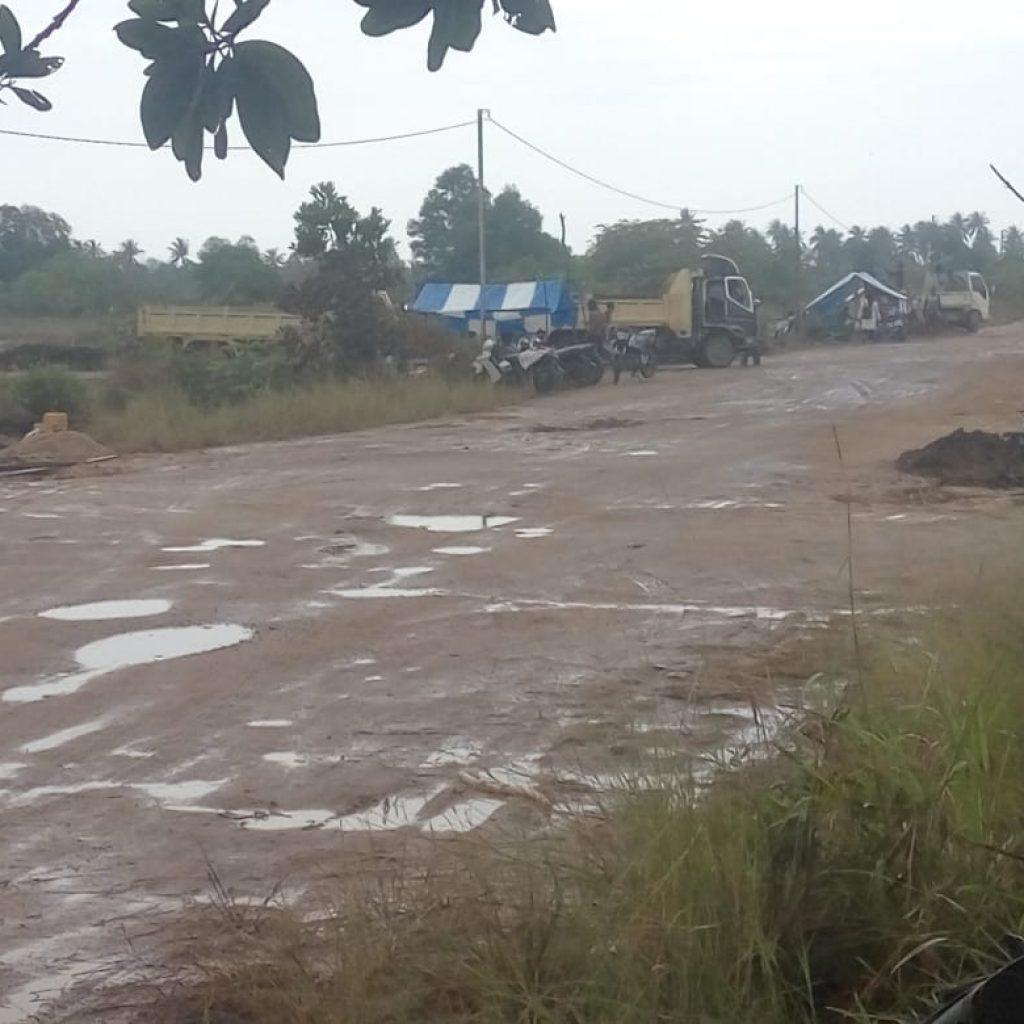 Pertambangan Pasir Ilegal Merajalela di Bintan