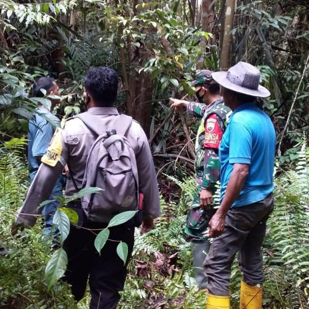 Pencegahan Terjadinya Kebakaran, Babinsa Koramil 02/Tebing Tinggi Laksanakan Patroli Rutin di Desa Batang Malas