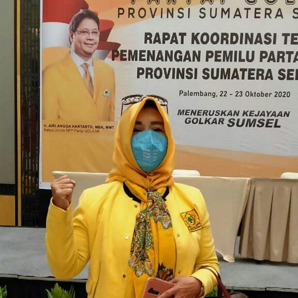 Tetap Jaga Kesehatan di Masa Pandemik, Raden Dewi Gumay Peringati Masyarakat