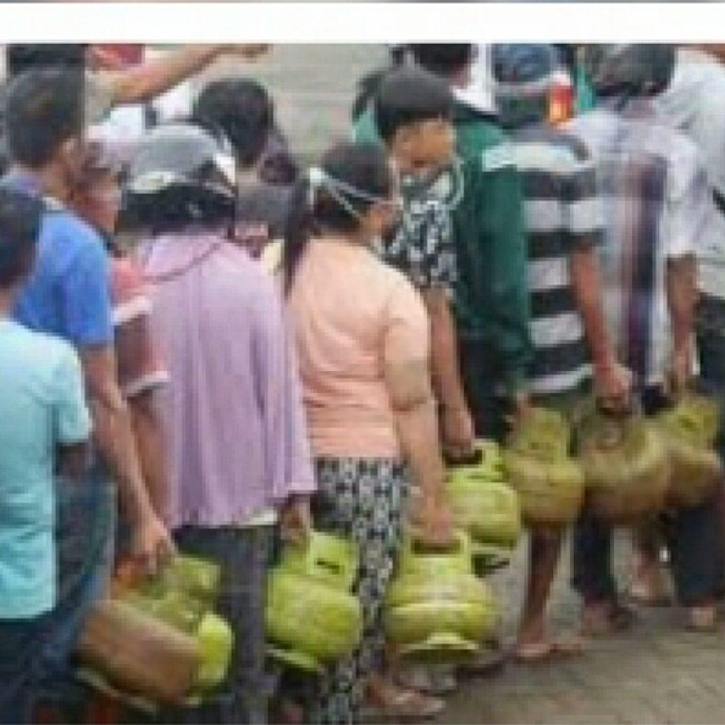 Gas Elpiji Bersubsidi 3kg di Tanjungpinang Semakin Langka