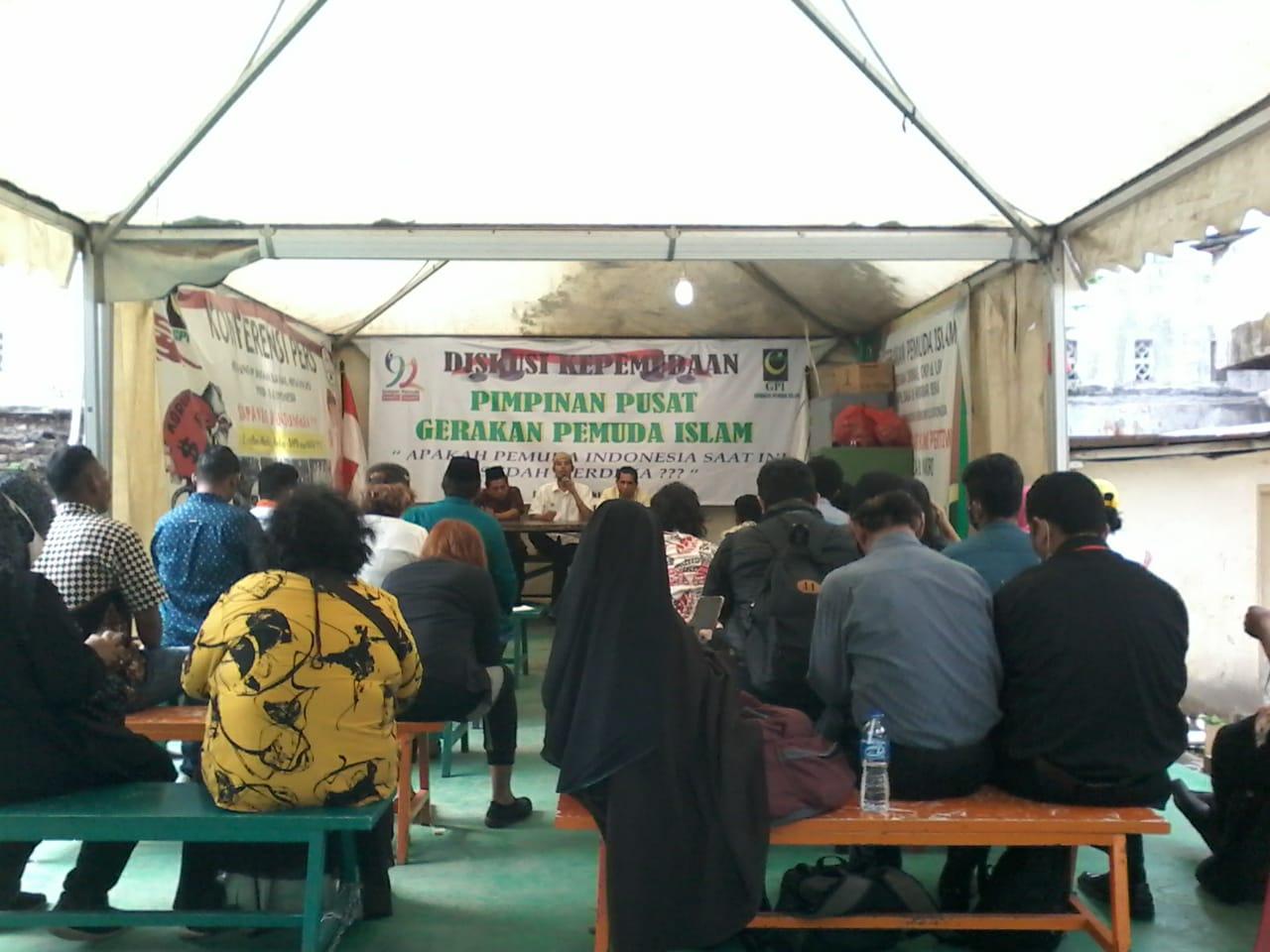 Gelar Diskusi, GPI Kembali Memaknai Perjuangan Sumpah Pemuda
