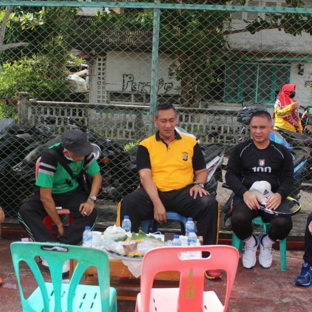 Dandim dan Kapolres Olahraga Bersama di Kepulauan Meranti
