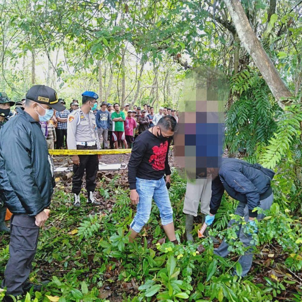 Diduga Depresi, Pria di Kepulauan Meranti Ini Gantung Diri di Pohon Karet