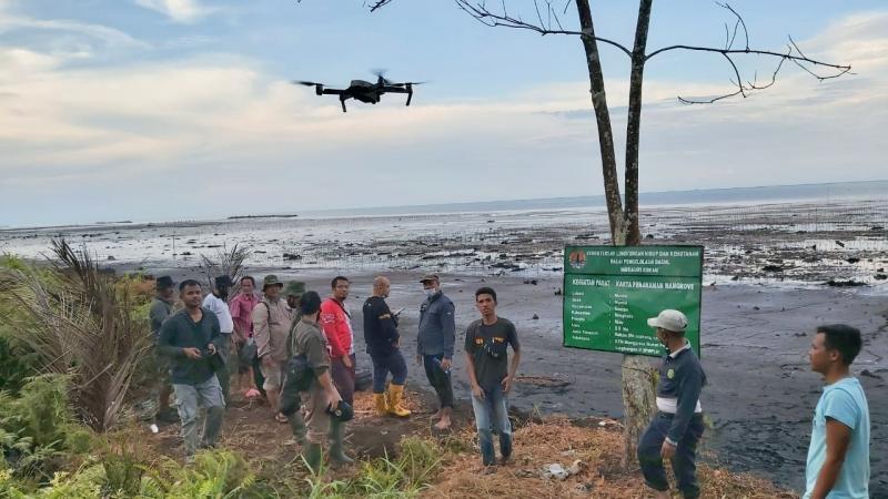 Gunakan CCTV dan Drone Pantau Program Mangrove