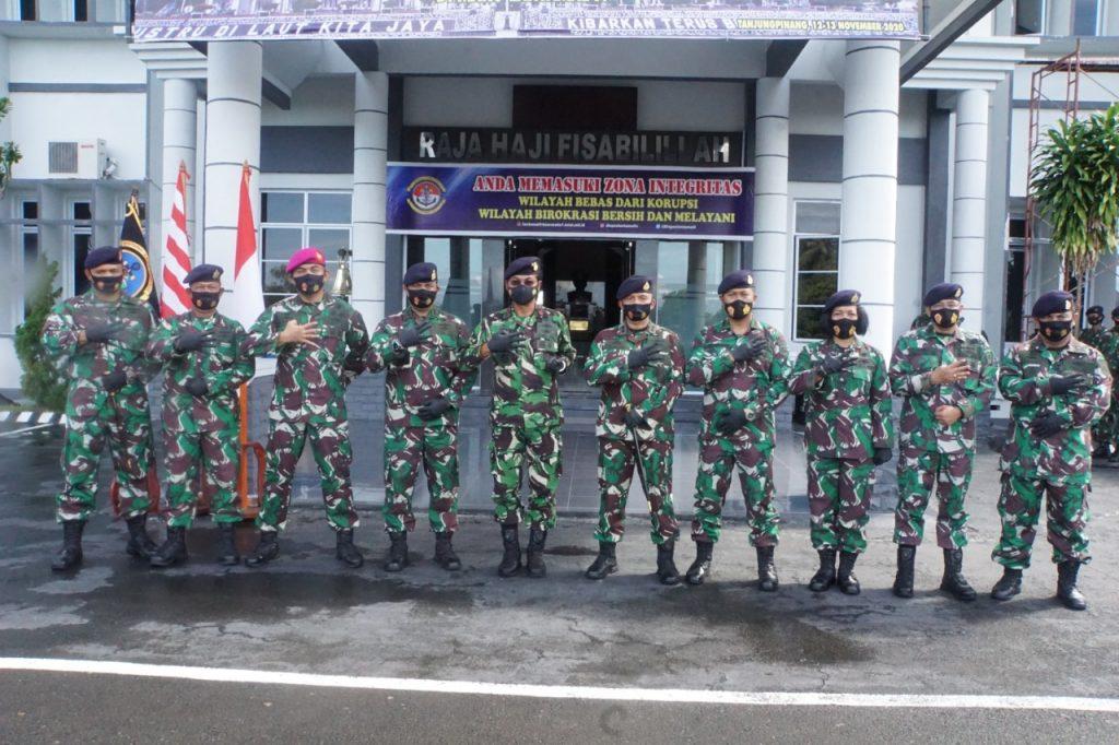 Letkol Laut (P) Didik Hermawan Resmi Jabat Danlanal Dabo Singkep
