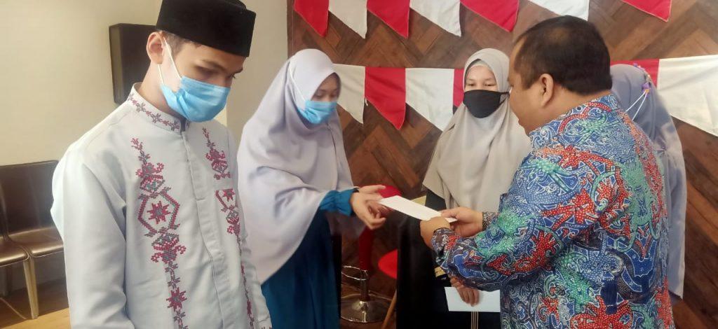 Motivasi Peserta MTQ Nasional Asal Kepulauan Meranti, Bupati Irwan Berikan Bantuan