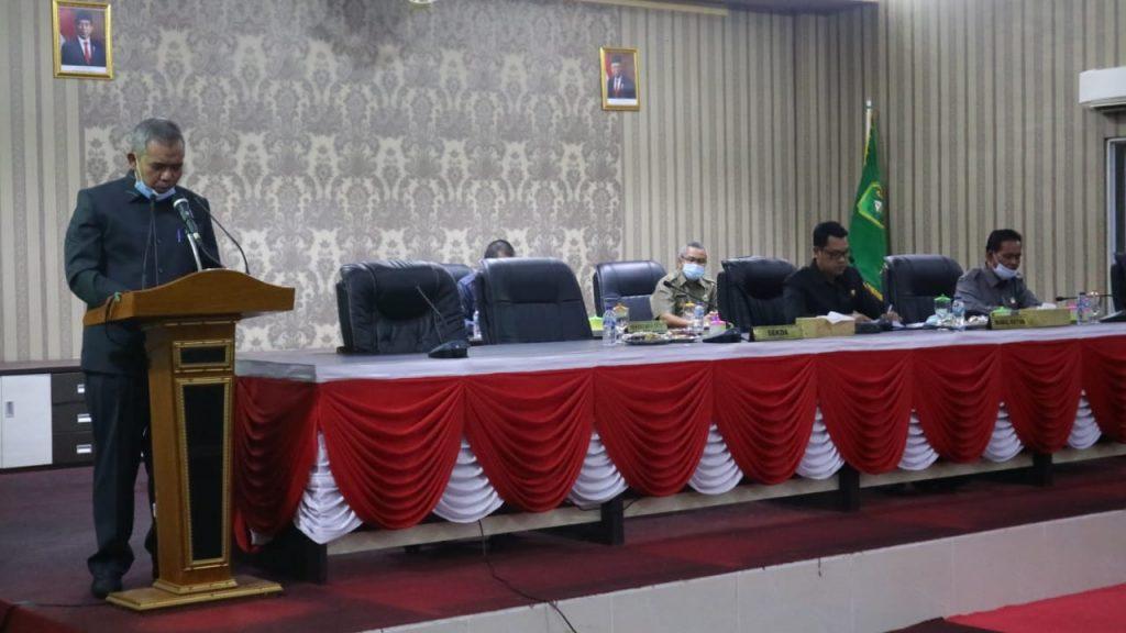 Berikut Jawaban Bupati Terhadap Pandangan Umum Fraksi DPRD Meranti