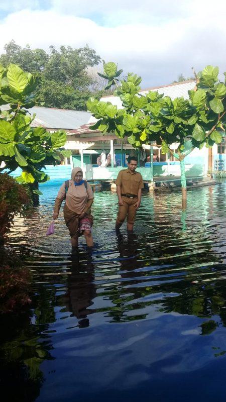 Banjir Rendam Puluhan Rumah di Desa Dedap, Warga Butuh Logistik Makanan
