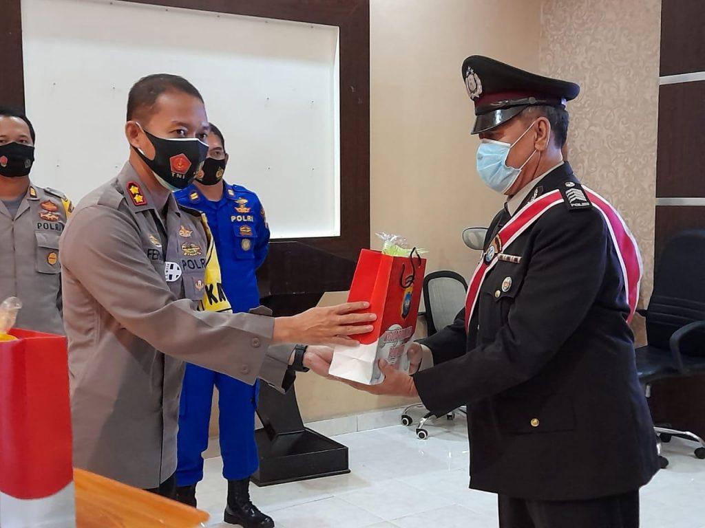 Polres Tanjungpinang Ikuti Video Conference, Wisuda Purnawirawan Bakti Personel Polda Kepri