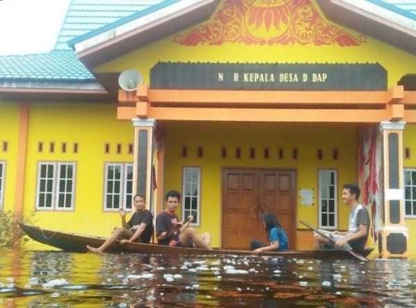 Kanal RAPP Meluap, Rendam Pemukiman Desa Dedap