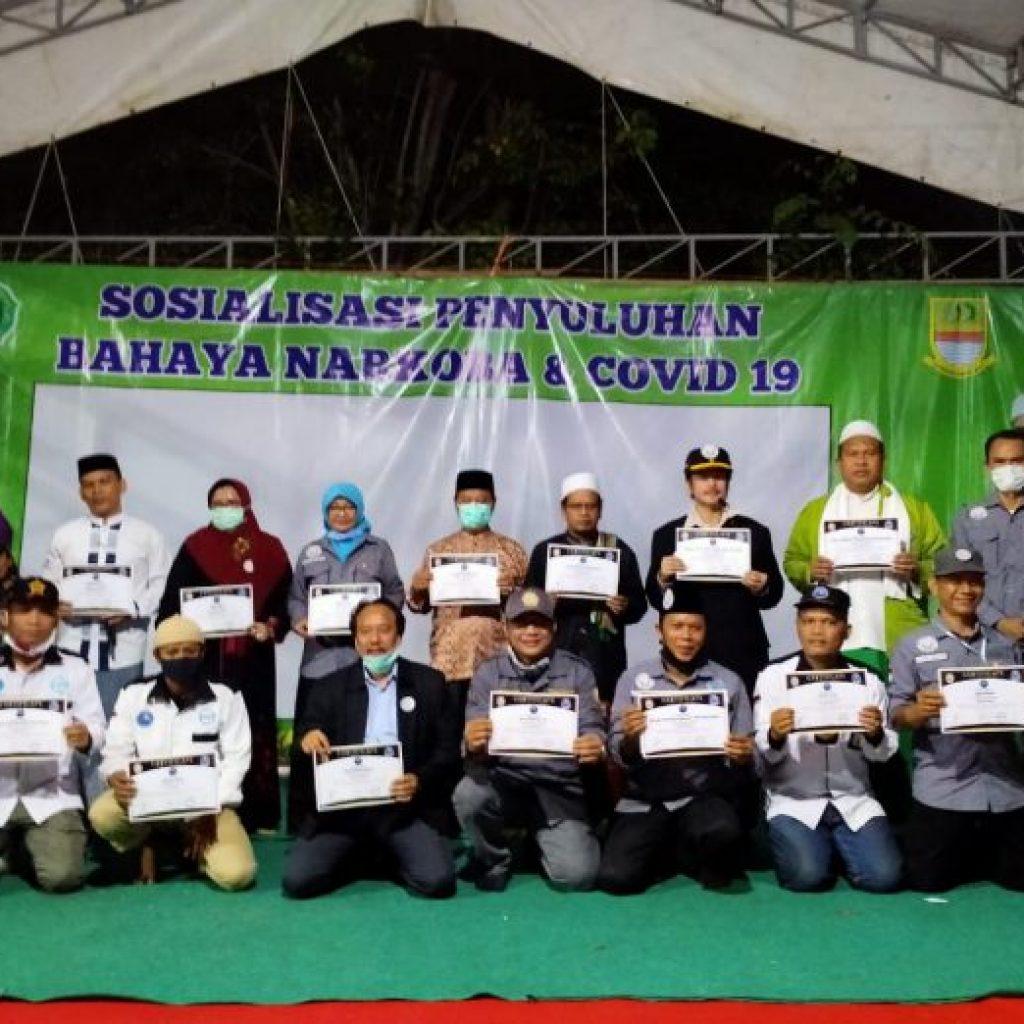 LAN Kab.Bekasi Sosialisasi Penyuluhan Bahaya Narkoba Di Yayasan Pondok Pesantren Halqoh El-Istigosah