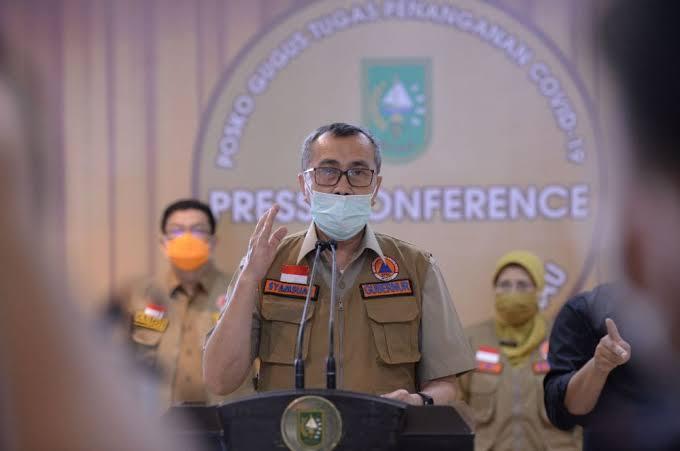 Update Corona Riau: 171 Positif, 177 Sembuh dan 5 Meninggal Dunia