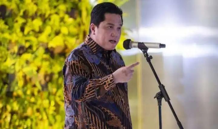 Erick Thohir : 66% Rakyat Indonesia Mau Disuntik Vaksin Covid-19