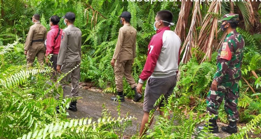 Babinsa Koramil 02/Tebing Tinggi Terus Laksanakan Patroli Karhutla di Wilayah Binaan