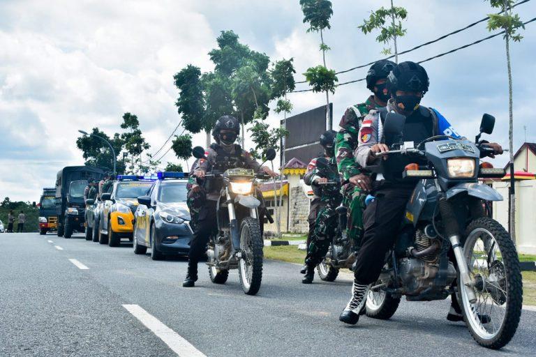 TNI-Polri lakukan Patroli Skala Besar Kamtibmas Kabupaten Bintan