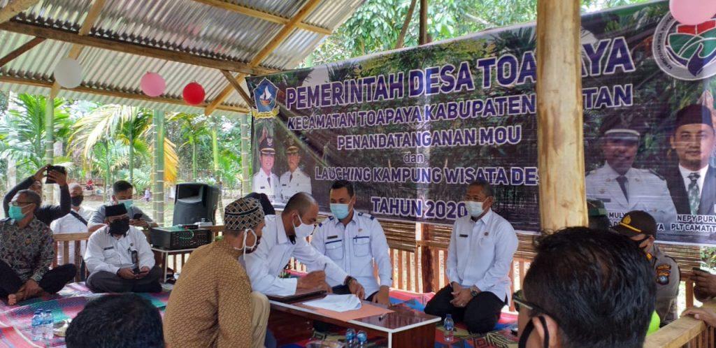 Launching Wisata Desa Toapaya dan MoU Bersama Pemilik Lahan
