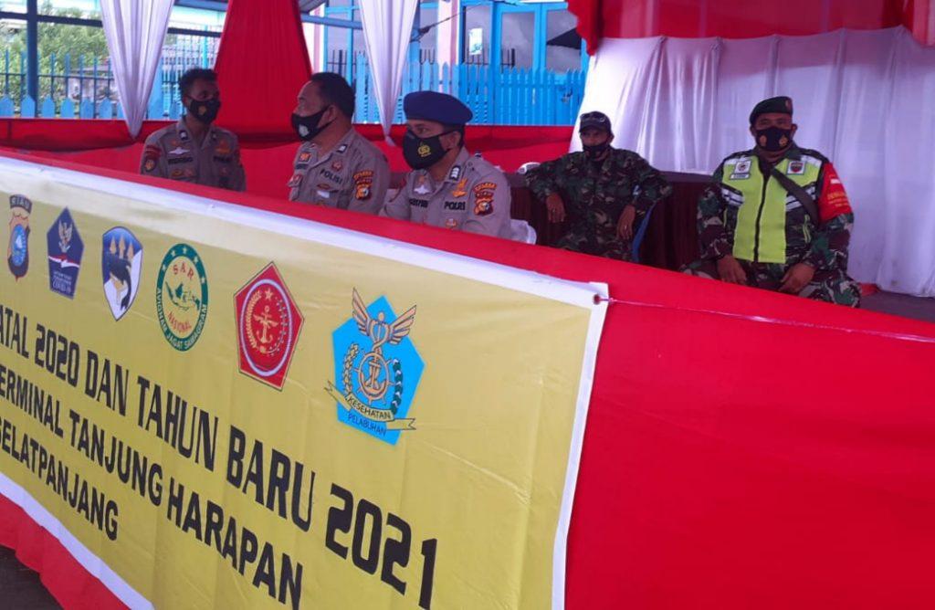 Sebagi Daerah Kepulauan, Babinsa Terus Laksanakan Pengamanan dan Prokes