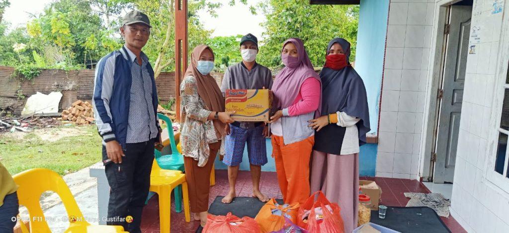 Bencana Alam. Desa Toapaya Selatan Sigap Membantu Masyarakat