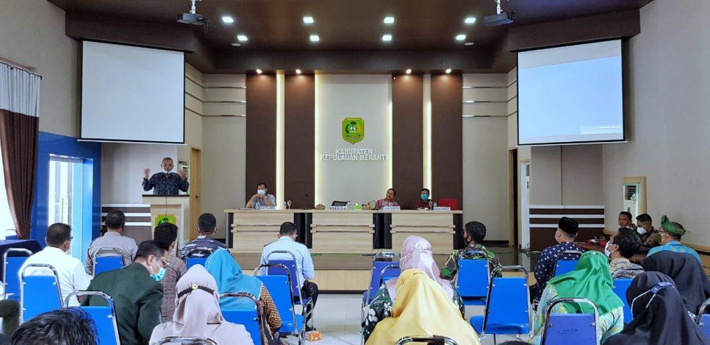 Vaksin Covid-19, 14 January 2021 Penyuntikan Serentak Diawali Kepada 1.082 Orang Nakes di Meranti