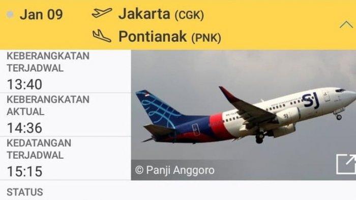 Lepas Landas Dari Bandara Soekarno Hatta, Pesawat Sriwijaya Hilang Kontak