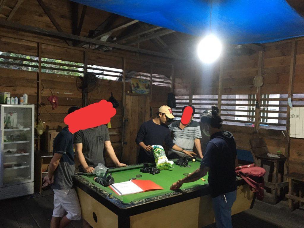 Kedapatan Main Judi Biliar, Tiga Pelaku Diringkus Polres Kepulauan Meranti