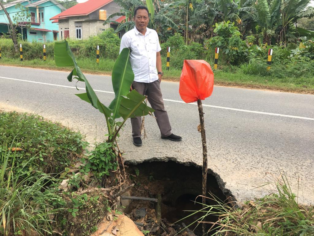Penanganan Jalan Rusak di Wilayah Bintan, PUPR Provinsi Segera Ambil Tindakan Cepat