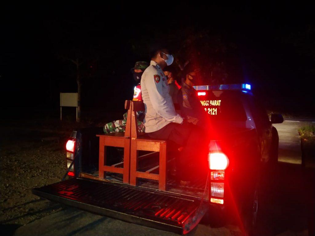Bersama TNI-POLRI, Polsek Tebing Tinggi Barat Laksanakan Patroli Gabungan
