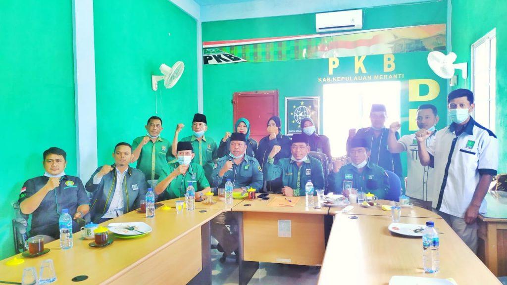 Pengurus DPC PKB Meranti Sampaikan Ucapan Selamat kepada Adil-Asmar