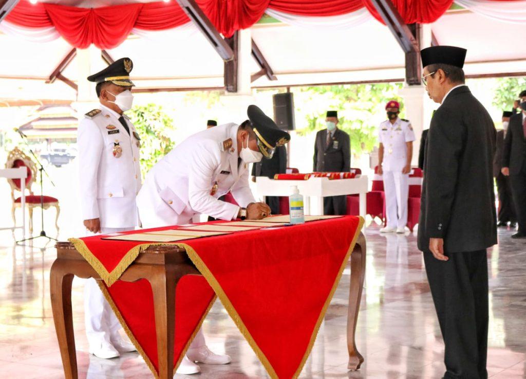 Sah.! H.M Adil SH – AKBP (Purn) H. Asmar Jabat Bupati dan Wakil Bupati Meranti, Siap Wujudkan 7 Program Strategis Menuj Meranti Maju