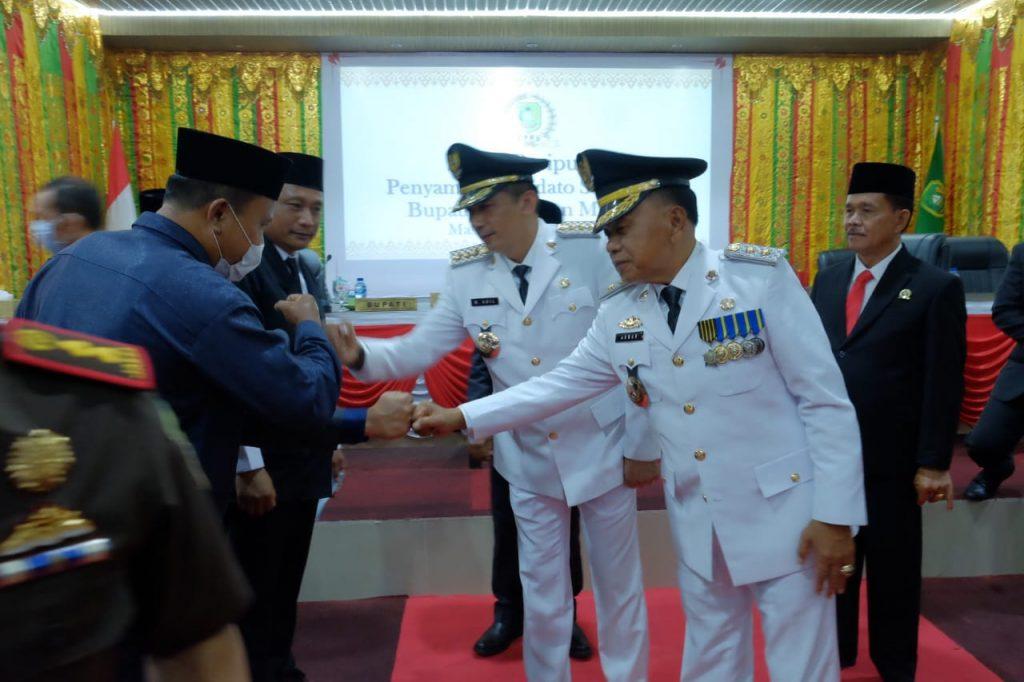 Bupati dan Wakil Bupati Sampaikan Visi dan Misi Serta 7 Program Strategis kepada DPRD