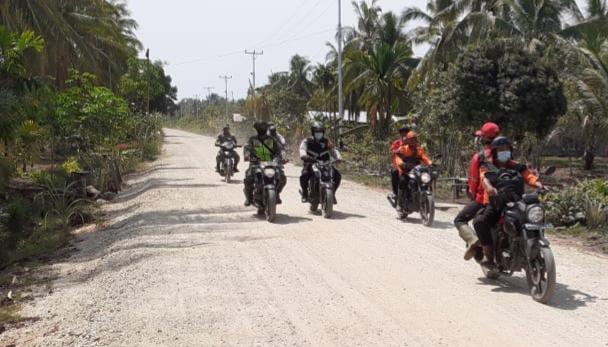 Meminimalisir Terjadinya Kebakaran, Babinsa Laksanakan Patroli Karhutla di Desa Binaan