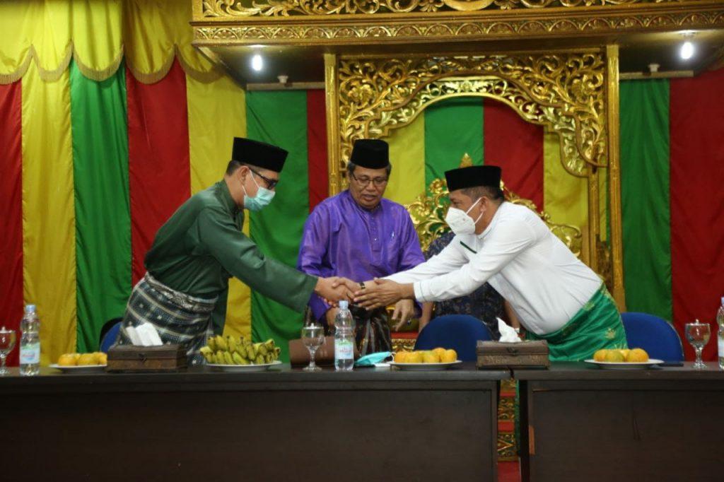 Bangun Siniergisitas Majukan Daerah, Bupati H. Adil Silaturahmi Ke LAM Riau
