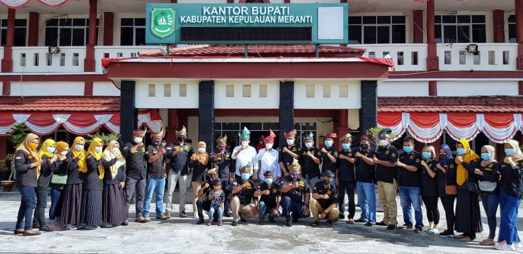 Ormas Gagak Hitam Silahturahmi Bersama Bupati-Wakil Bupati, Siap Jalankan Program Prioritas Dibidang Sosial Budaya
