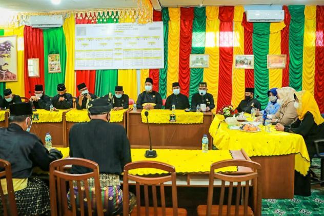 Walikota Rahma dan Wakil Gubernur Marlin Besernergi Memperkuat Edintitas Melayu