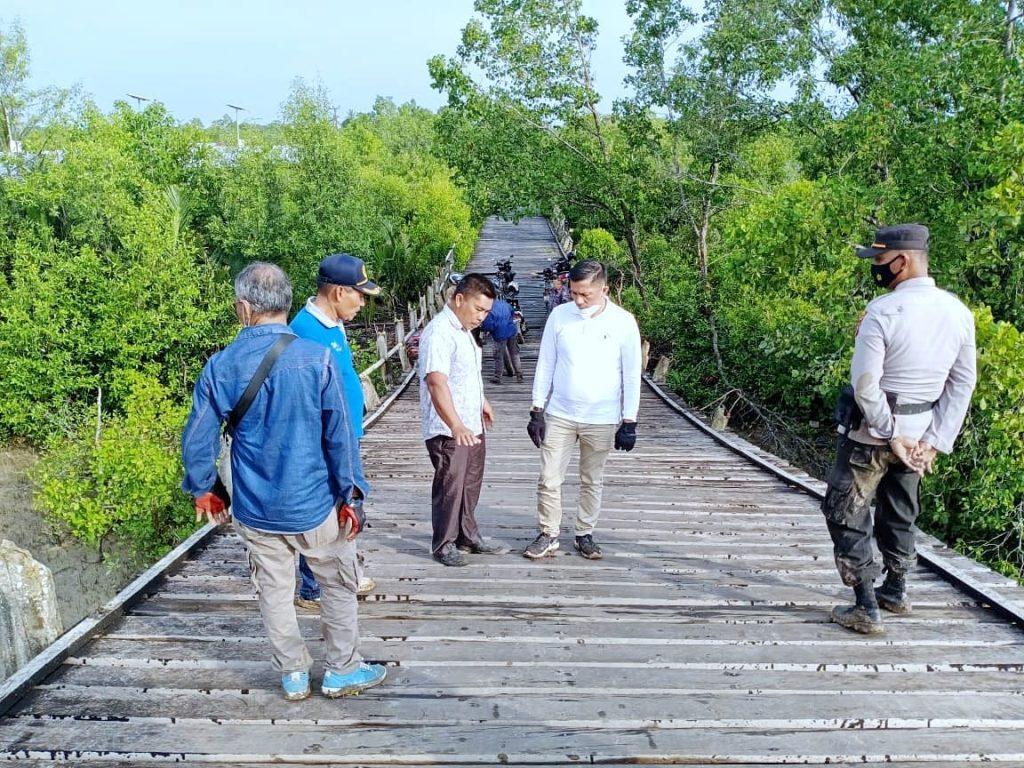 Bupati H. Adil dan Rombongan OPD Lanjutkan Touring Ke Kecamatan Pulau Merbau