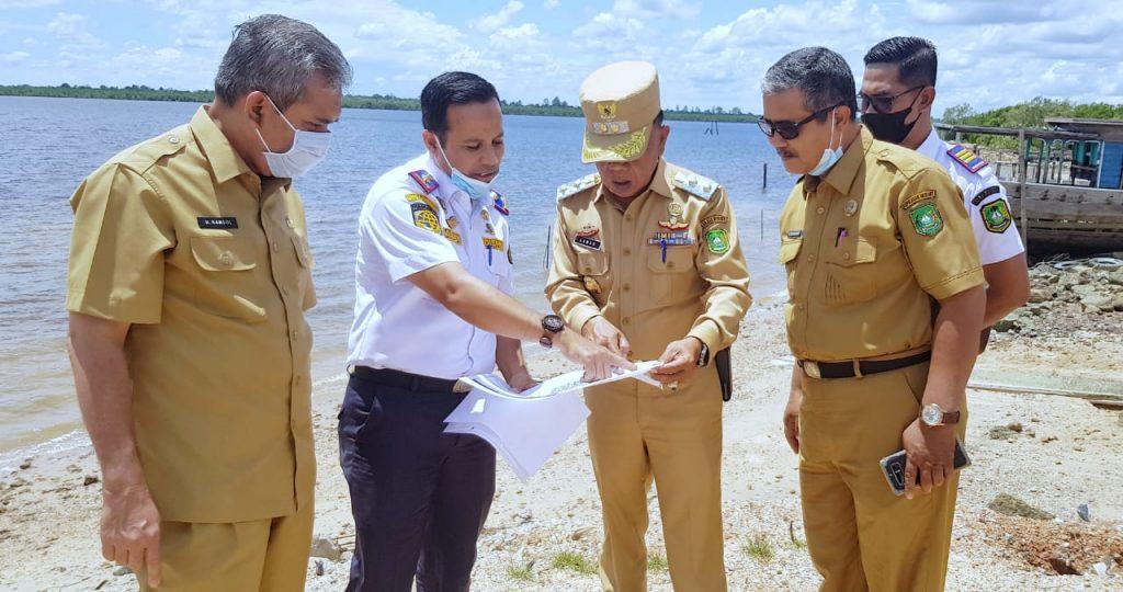 Wabup H. Asmar Pimpin Rakor Penetapan Pelabuhan Singgah Tol Laut di Kepulauan Meranti