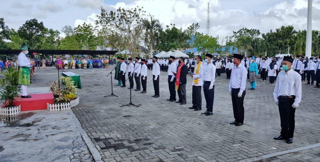 Bupati H. Adil Lantik BPD Se-Kabupaten Kepulauan Meranti