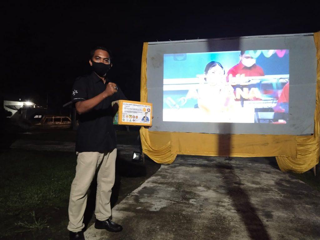 Relawan Taverstar Rangsang Berikan Dukungan Untuk Putra di Ajang Lida 2021