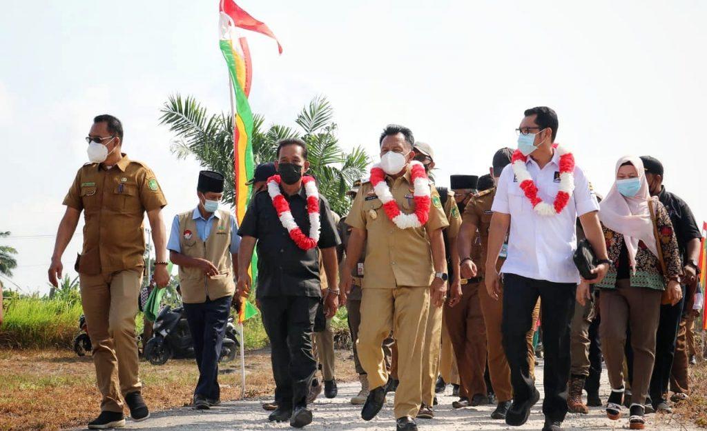 H. Asmar Buka dan Ikuti Musrenbang Kecamatan Pulau Merbau, Serap Aspirasi Masyarakat