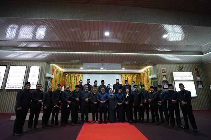Rapat Paripurna DPRD Meranti, Nilai Objek Pajak Pada Perda PAD Berubah, Perda Kepelabuhanan Ditarik