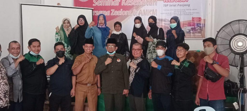 DPP AMKM Meranti Bersama Zeelora Gelar Seminar Kesehatan