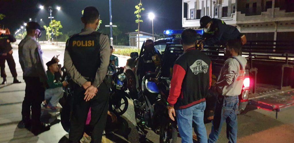 Polisi di Meranti Tingkatkan Patroli Selama Ramadhan