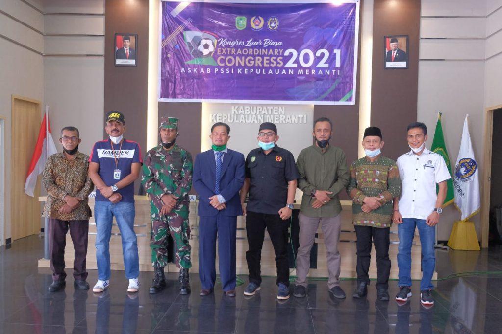Suharto Pimpin Askab PSSI Kepulauan Meranti Masa Bakti 2021-2025