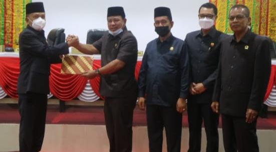 H. Asmar Apresiasi Pandangan Umum Fraksi DPRD Kepulauan Meranti
