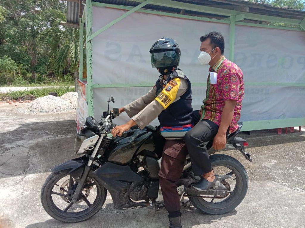 Polres Meranti Kerahkan Kendaraan Dinas Untuk Antar Jemput Warga Yang Ingin Divaksin COVID-19