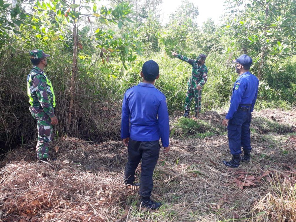 Babinsa Koramil 02/Tebing Tinggi Laksanakan Patroli Karhutla di Tempat Rawan Terbakar