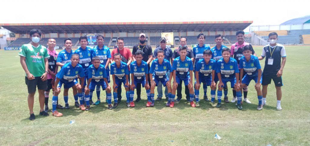 Kejurda Pelajar 2021: 'Free Kick' Darma Putra Bungkam Inhil 1-0