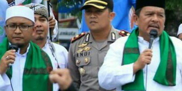 Turut Berunjukrasa Damai Bela Islam,Pangonal Harahap Siap Ditendang Dari PDIP